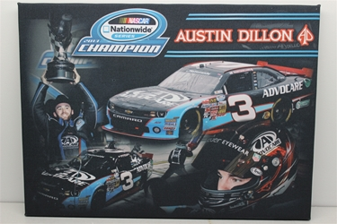 Austin Dillon 2013 Advocare NWS Canvas Austin Dillon nascar diecast, diecast collectibles, nascar collectibles, nascar apparel, diecast cars, die-cast, racing collectibles, nascar die cast, lionel nascar, lionel diecast, action diecast, university of racing diecast, nhra diecast, nhra die cast, racing collectibles, historical diecast, nascar hat, nascar jacket, nascar shirt