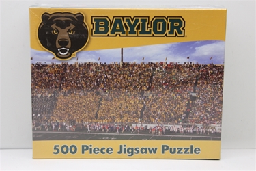 Baylor University 500 Piece Jigsaw Adult Puzzle Baylor University 500 Piece Jigsaw Adult Puzzle