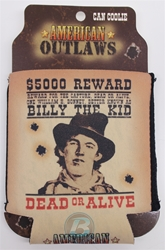 Billy The Kid American Outlaws Can Koozie Billy The Kid American Outlaws Can Koozie