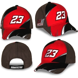 Bubba Wallace 2021 #23 Electrifying Adult Hat Bubba Wallace, NASCAR Cup Series, 23XI