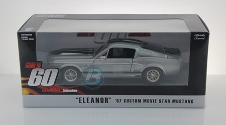 "Gone in Sixty Seconds (2000) 1:24 - 1967 Ford Mustang ""Eleanor"" Gone in Sixty Seconds, Movie Diecast, 1:24 Scale, 1967 Ford Mustang Eleanor"