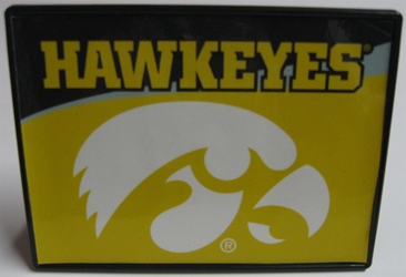 Iowa Hawkeyes Trailer Hitch Cover Iowa Hawkeyes Trailer Hitch Cover