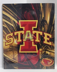 "Iowa State University Canvas 11"" x 14"" Wall Hanging collectible canvas, ncaa licensed, officially licensed, collegiate collectible, university of"