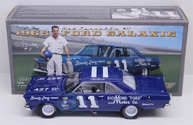 Ned Jarrett Autographed #11 Richmond Motor Company Co. 1965 Ford Galaxie 1:24 University of Racing Nascar Diecast Ned Jarrett nascar diecast, diecast collectibles, nascar collectibles, nascar apparel, diecast cars, die-cast, racing collectibles, nascar die cast, lionel nascar, lionel diecast, action diecast, university of racing diecast, nhra diecast, nhra die cast, racing collectibles, historical diecast, nascar hat, nascar jacket, nascar shirt,historical racing die cast