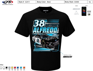 *Preorder* Anthony Alfredo 2021 Dude Wipes 1-Spot Graphic Tee Anthony Alfredo, Dude Wipes, shirt, nascar