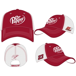 *Preorder* Bubba Wallace 2021 #23 Dr Pepper Sponsor Adult Hat Bubba Wallace, NASCAR Cup Series, HMS