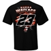 Bubba Wallace 2021 DoorDash 2-Spot Fuel Tee - C23-I4123-1