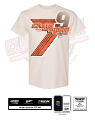 *Preorder* Chase Elliott 2021 Hooters Darlington Throwback 1-Spot Adult Tee Chase Elliott, shirt, nascar, hooters