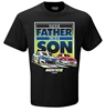 Chase Elliott & Bill Elliott Like Father Like Son #HERITA9E 1-Spot Tee shirt, nascar playoffs