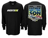 Chase Elliott & Bill Elliott Like Father Like Son #HERITA9E 2-Spot Long Sleeve Tee shirt, nascar playoffs