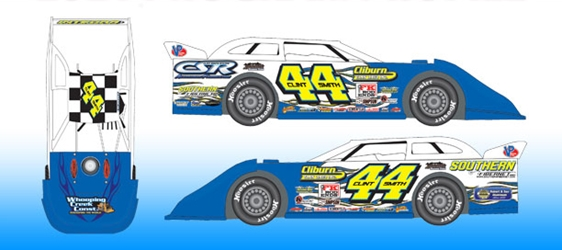 *Preorder* Clint Smith 2021 #44 1:64 Dirt Late Model Diecast Clint Smith, 2021 Dirt Late Model Diecast, 1:64 Scale Diecast, pre order diecast