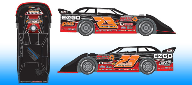 *Preorder* Cory Hedgecock 2021 #23 1:24 Dirt Late Model Diecast Cory Hedgecock, 2021 Dirt Late Model Diecast, 1:24 Scale Diecast, pre order diecast