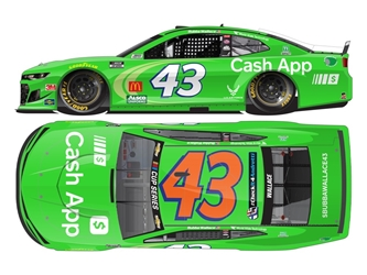 "*Preorder* Darrell ""Bubba"" Wallace Autographed 2020 Cash App 1:24 Nascar Diecast Darrell ""Bubba"" Wallace Nascar Diecast,2020 Nascar Diecast,1:24 Scale Diecast,pre order diecast"