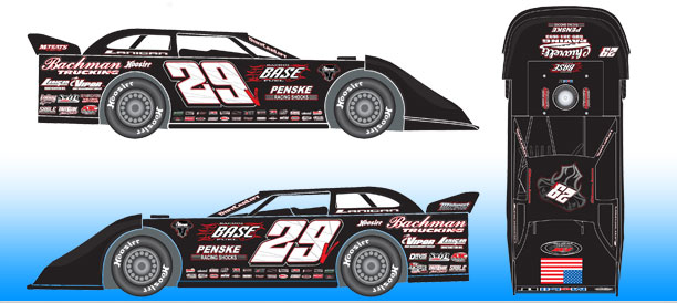 *Preorder* Darrell Lanigan 2021 #29 1:24 Dirt Late Model Diecast Darrell Lanigan, 2021 Dirt Late Model Diecast, 1:24 Scale Diecast, pre order diecast