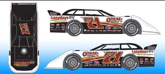 *Preorder* Hudson ONeal 2021 #71 1:64 Dirt Late Model Diecast Hudson ONeal, 2021 Dirt Late Model Diecast, 1:64 Scale Diecast, pre order diecast