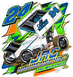 *Preorder* Jac Haudenschild 2021 Wild Child Final Countdown #24 1:18 Sprint Car Diecast Jac Haudenschild, sprint diecast, diecast collectibles, dirt racing, sprint car, diecast cars, die-cast, racing collectibles, nascar die cast, lionel nascar, lionel diecast, action diecast, university of racing diecast, nhra diecast, nhra die cast, racing collectibles, historical diecast, nascar hat, nascar jacket, nascar shirt