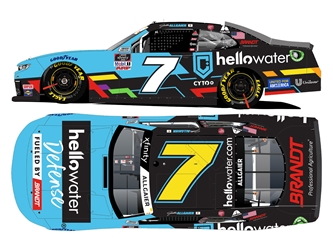 *Preorder* Justin Allgaier Autographed 2021 hellowater 1:24 Nascar Diecast Justin Allgaier, Nascar Diecast,2021 Nascar Diecast,1:24 Scale Diecast,pre order diecast