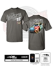 Kyle Busch M&M's Slant 2-Spot Adult Tee Kyle Busch, shirt, nascar, apparel, M&M's