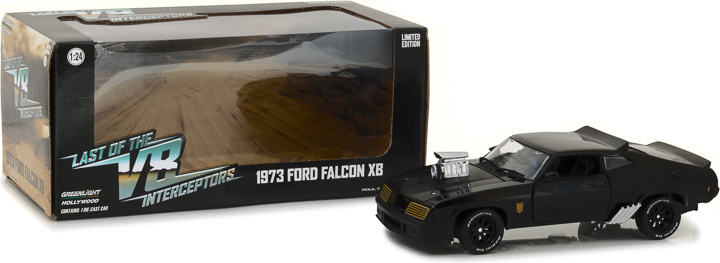 Last of the V8 Interceptors (1979) 1:24 - 1973 Ford Falcon XB Last of Us, Movie Diecast, 1:24 Scale, 1973 Ford Falcon XB