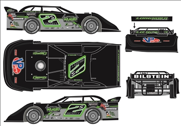 *Preorder* Stormy Scott 2021 #2S 1:24 Dirt Late Model Diecast Stormy Scott, 2021 Dirt Late Model Diecast, 1:24 Scale Diecast, pre order diecast