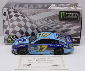 Ricky Stenhouse Jr Autographed 2017 Fifth Third/Talladega/First Cup Win 1:24 Nascar Diecast Ricky Stenhouse Jr Nascar Diecast,2017 Nascar Diecast,1:24 Scale Diecast,Fifth Third pre order diecast