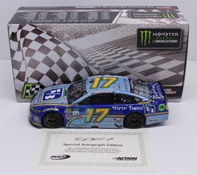 Ricky Stenhouse Jr Autographed 2017 Fifth Third/Talladega/First Cup Win Flashcoat 1:24 Nascar Diecast Ricky Stenhouse Jr Nascar Diecast,2017 Nascar Diecast,1:24 Scale Diecast,Fifth Third pre order diecast