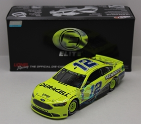 Ryan Blaney 2018 Duracell / Menards Darlington Throwback 1:24 Elite Nascar Diecast Ryan Blaney Nascar Diecast, 2018 Nascar Diecast, 1:24 Scale Diecast, pre order diecast, Elite