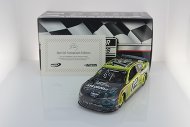 Ryan Blaney Autographed 2020 Menards / TruWave Technology by Sylvania Talladega 6/21 Race Win 1:24 Color Chrome Nascar Diecast Ryan Blaney, Race Win, Nascar Diecast,2020 Nascar Diecast,1:24 Scale Diecast,pre order diecast