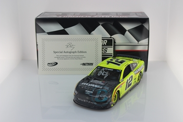Ryan Blaney Autographed 2020 Menards / TruWave Technology by Sylvania Talladega Race Win 1:24 Nascar Diecast Ryan Blaney, Race Win, Nascar Diecast,2020 Nascar Diecast,1:24 Scale Diecast,pre order diecast