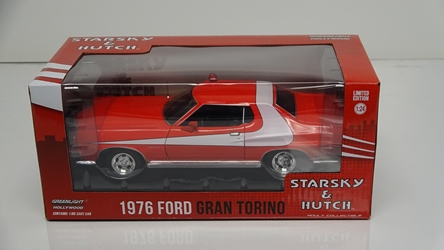 Starsky and Hutch (1975-79 TV Series) 1:24 - 1976 Ford Gran Torino Starsky and Hutch, TV Diecast, 1:24 Scale, 1976 Ford Gran Torino