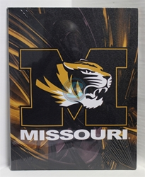 "University Missouri Canvas 11"" x 14"" Wall Hanging collectible canvas, ncaa licensed, officially licensed, collegiate collectible, university of"