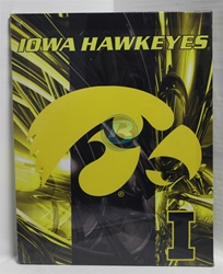 "University of Iowa Canvas 11"" x 14"" Wall Hanging collectible canvas, ncaa licensed, officially licensed, collegiate collectible, university of"