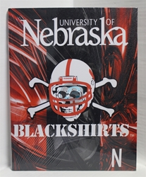 "University of Nebraska Canvas 11"" x 14"" Wall Hanging collectible canvas, ncaa licensed, officially licensed, collegiate collectible, university of"