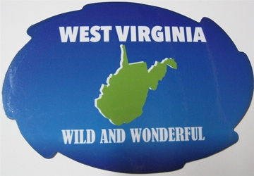 West Virginia Wild and Wonderful Magnet Virginia and Wonderful Magnet