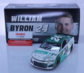 William Byron Autographed 2019 UniFirst 1:24 Nascar Diecast William Byron Nascar Diecast,2019 Nascar Diecast,1:24 Scale Diecast,pre order diecast