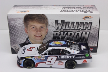 William Byron NON-Autographed 2017 Liberty University Rookie of the Year 1:24 Nascar Diecast William Byron diecast, 2017 nascar diecast, IN STOCK diecast